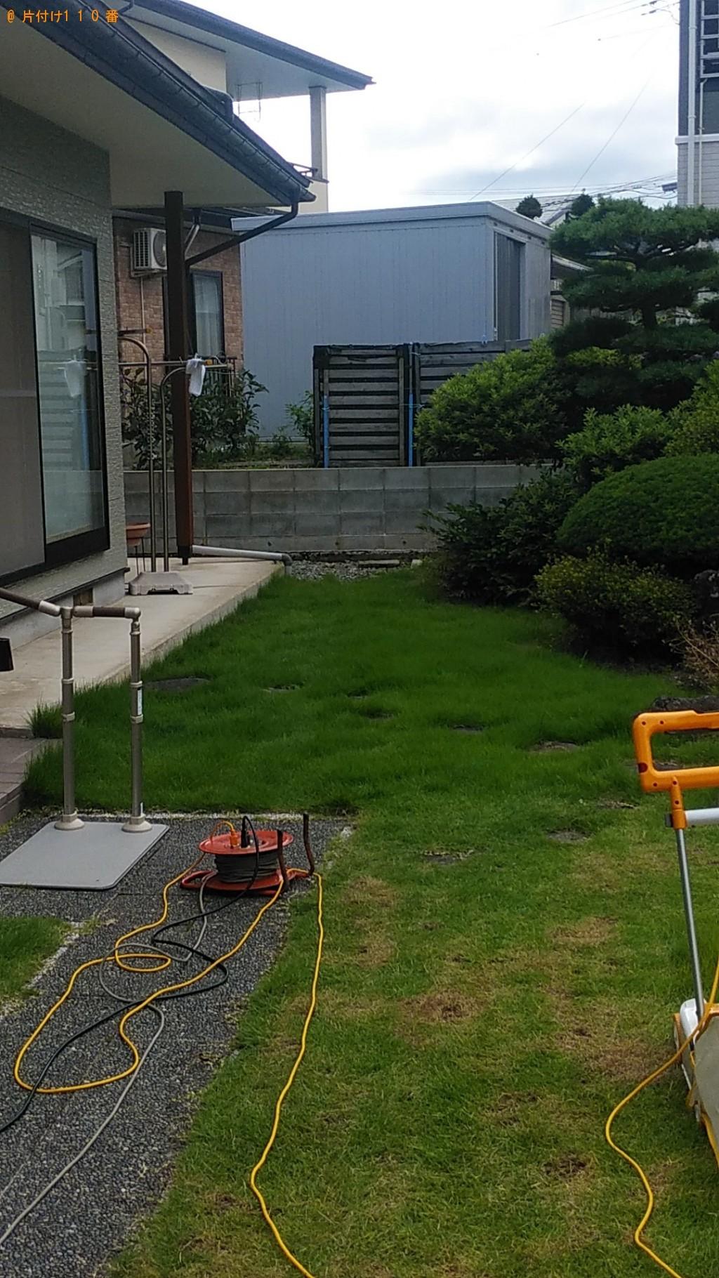 【東根市】芝刈り、芝の処分ご依頼