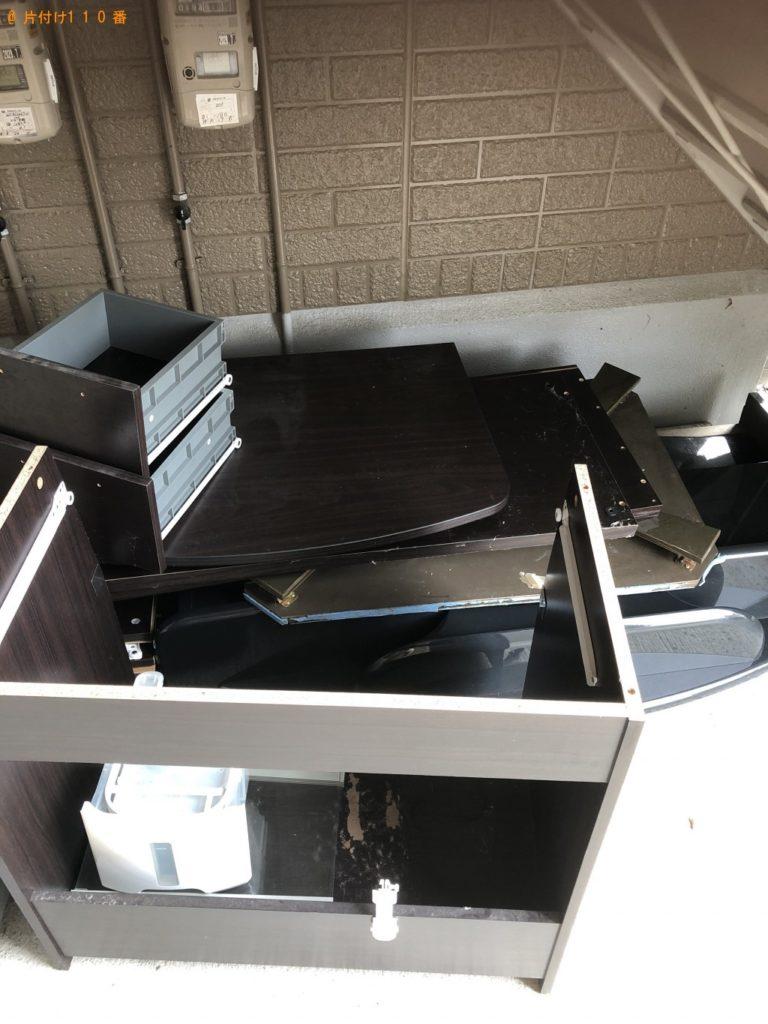 【尾花沢市】洗濯機、セミダブルベッド、セミダブルマットレスの回収・処分 お客様の声