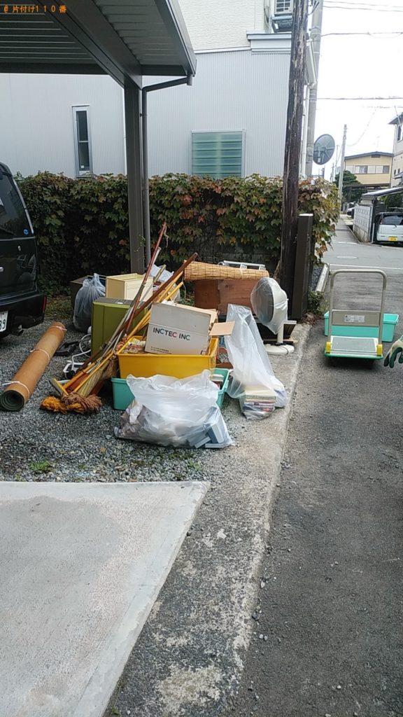 【河北町】軽トラック1台程度の出張不用品回収・処分ご依頼