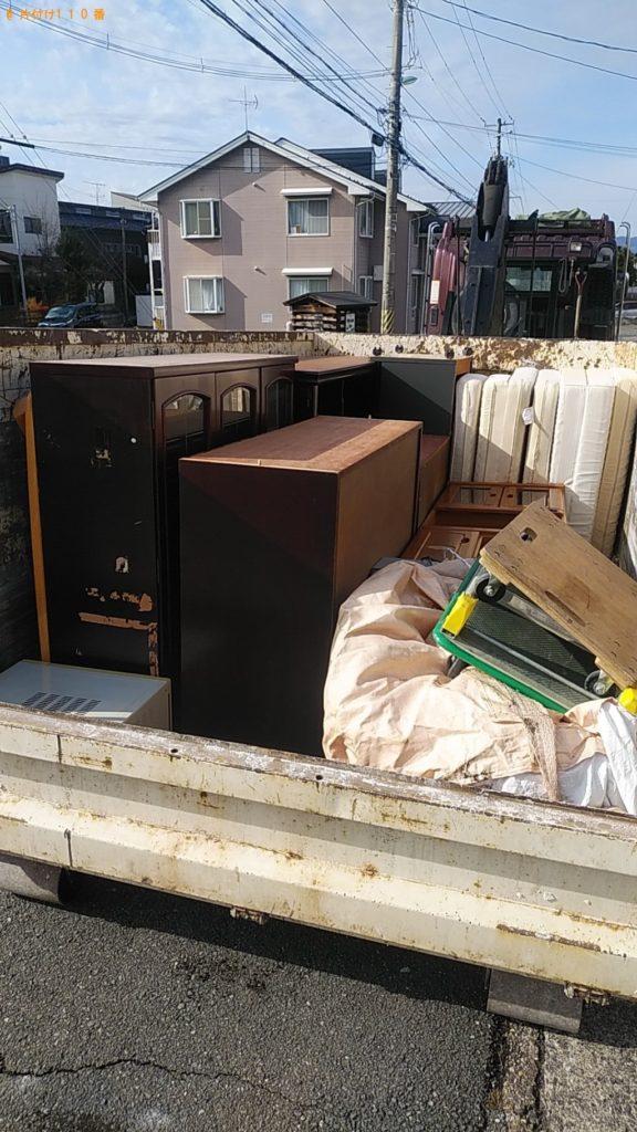 【庄内町】2トントラック1台程度の出張回収・処分ご依頼