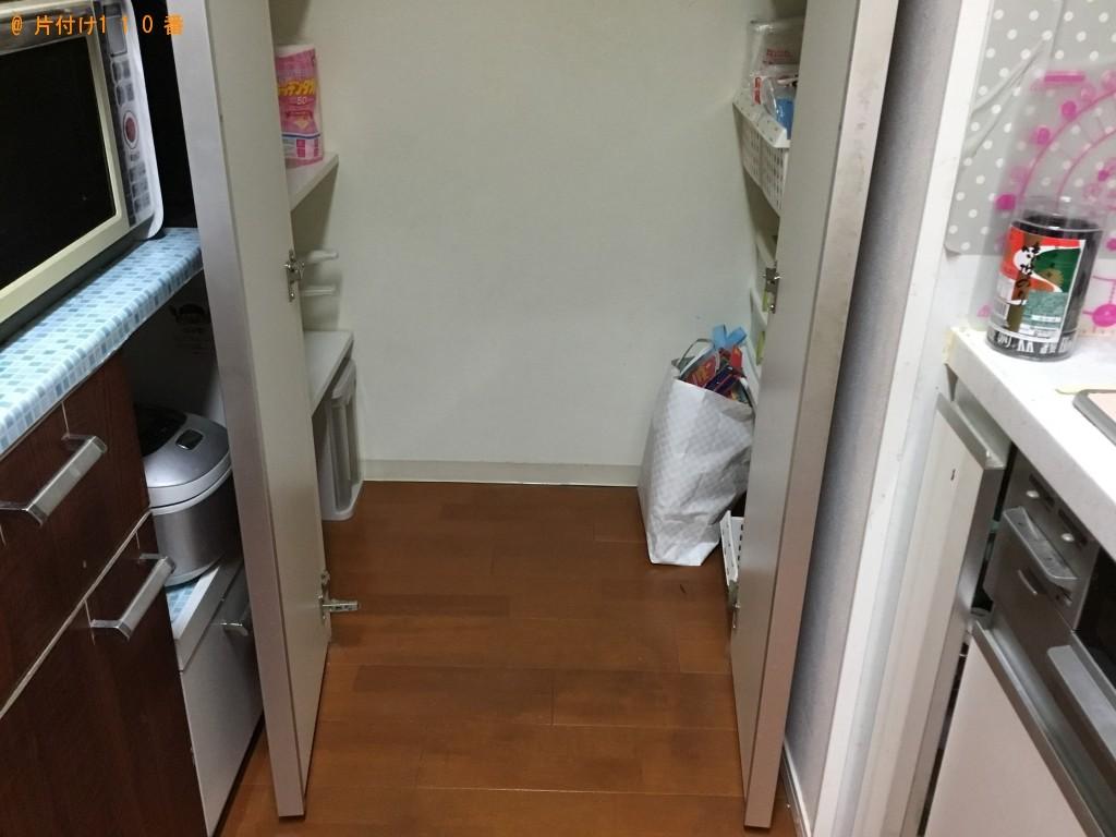 【高畠町】ハウスクリーニングと食品庫、食品、食器の回収ご依頼