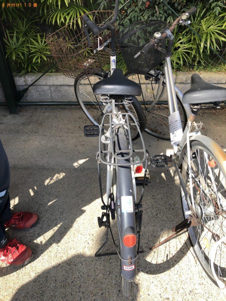【白鷹町】自転車の回収・処分ご依頼 お客様の声