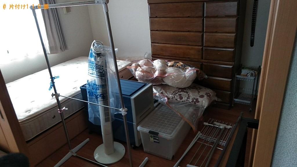 【酒田市】遺品整理に伴い扇風機、こたつ、衣装ケース、座椅子、布団等の回収・処分