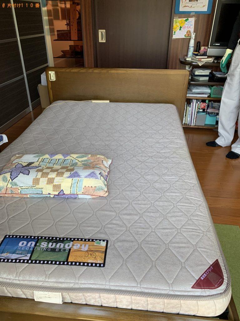 【尾花沢市】電動ベッドの回収・処分ご依頼 お客様の声
