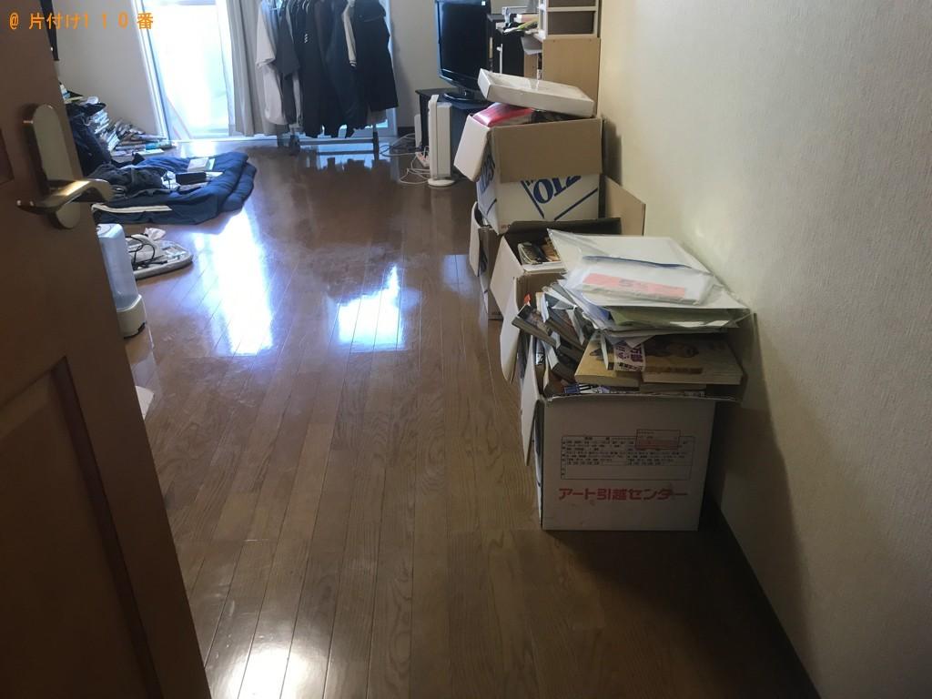 【山形市】遺品整理に伴いソファー、テーブル等の回収とハウスクリーニングご依頼