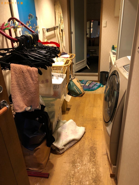 【山形市】マッサージチェア、洗濯機等の回収とトイレのクリーニング