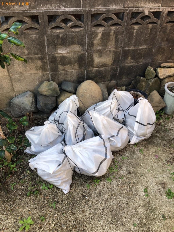 【山形市】庭石、植木鉢の回収・処分ご依頼 お客様の声