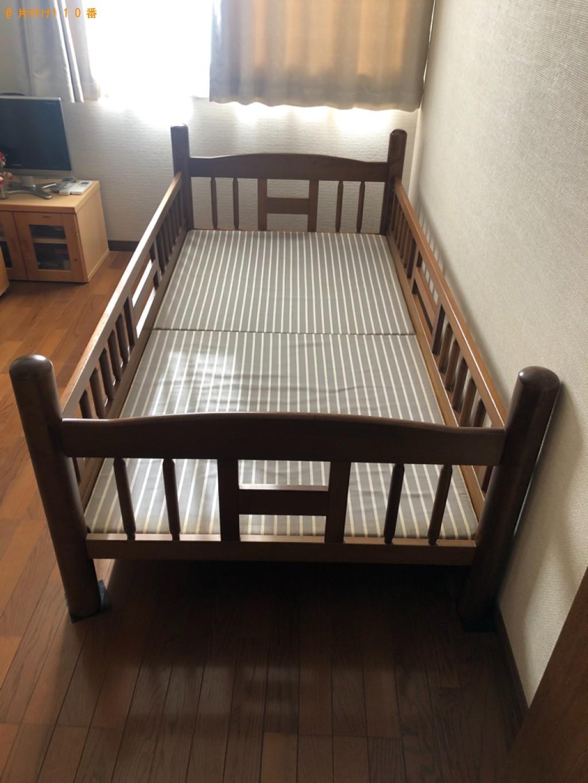 【山形市】シングルベッド、エレクトーンの回収・処分ご依頼