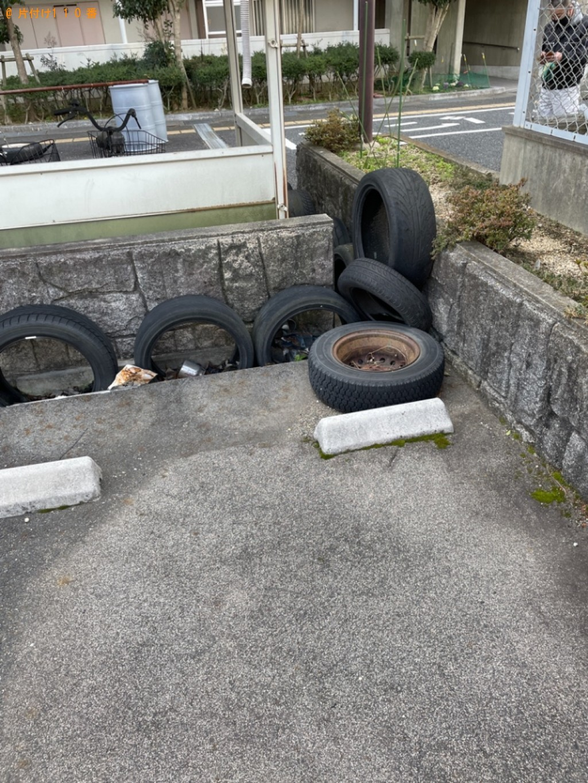 【山形市】自動車タイヤの回収・処分ご依頼 お客様の声