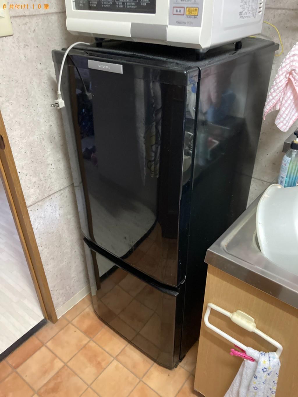 【山形市】洗濯機、冷蔵庫、折り畳みベッド、衣装ケース等の回収