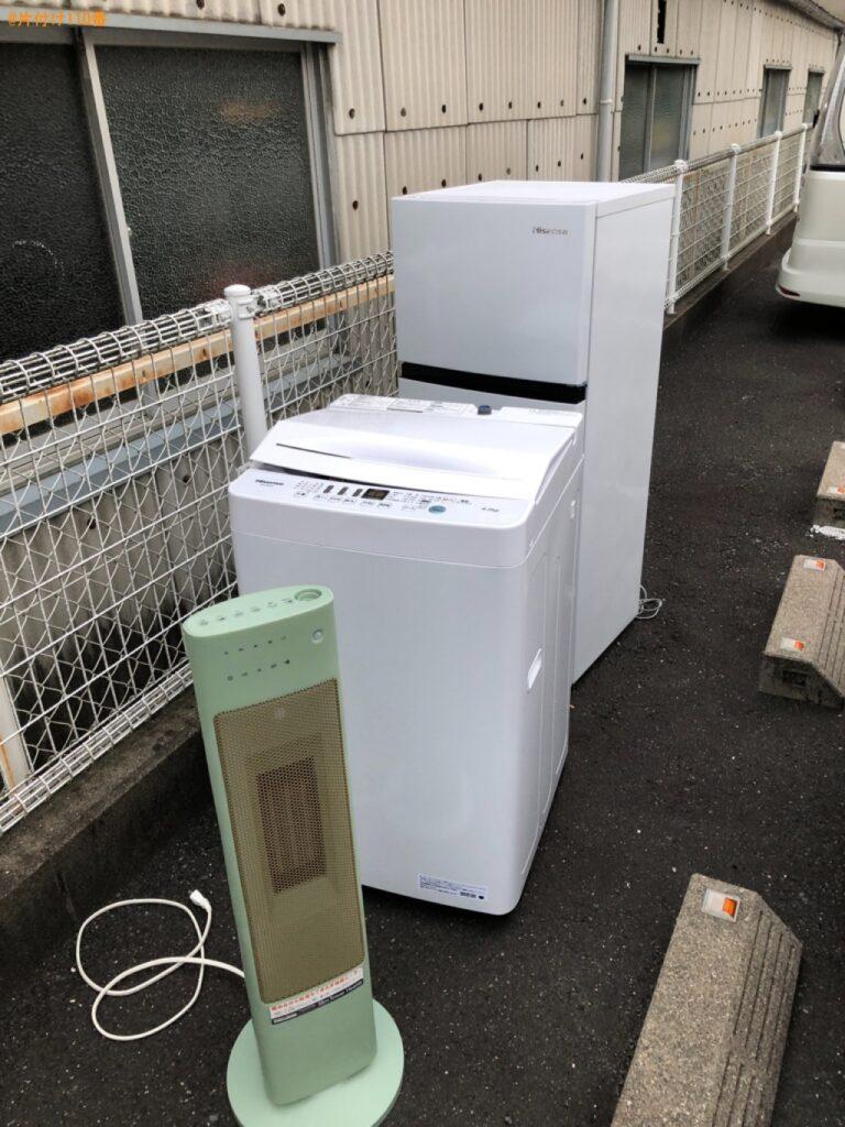 冷蔵庫、洗濯機等の回収・処分ご依頼 お客様の声
